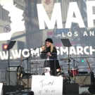 STAGE TUBE: Barbra Streisand Speaks at Women's March in LA