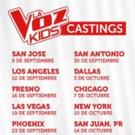 Telemundo's LA VOZ KIDS Kicks Off Casting for Fourth Season