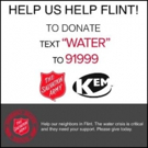 KEM Teams with Salvation Army to Assist w/ Flint Water Crisis