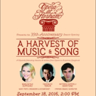 Lenfell Hall Announces 35th Season Opening: A Harvest of Music & Song