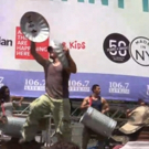 BWW TV: Cast of STOMP Brings Percussion to Bryant Park!