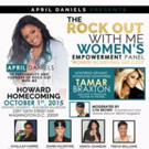 Grammy-Nominated Tamar Braxton Honored at Rock Out With Me Women's Empowerment Event