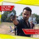 Andrew Lincoln Autographed Photo & WALKING DEAD Trading Cards to Be Given Away by PSA