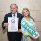 Photo Coverage: Guinness World Record Certificate Awarded to BroadwayHD