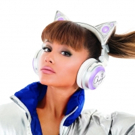 Ariana Grande Teams With Brookstone to Release Her Own Wireless Cat Ear Headphones; Pre-Order Now