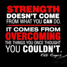Fitness Tip of the Day: Overcome in Strength