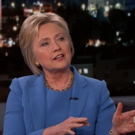 VIDEO: Hillary Clinton Doubts Trump's Foreign Policy Chops on KIMMEL