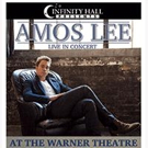 Singer-Songwriter Amos Lee to Play the Warner Theatre This Fall