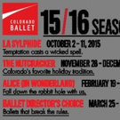 Colorado Ballet Presents 'Ballet Director's Choice', 3/25