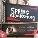 Up on the Marquee: SPRING AWAKENING