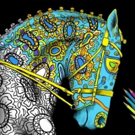 New Adult Coloring Books Fuse Mystique of Horses, Creativity & Color