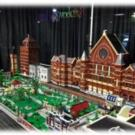 See Music Hall and Washington Park in LEGO Replica, 8/5-7 in the Music Hall Foyer