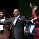 Photo Flash: Motown Legend The Hightops' Duke Fakir Meets MOTOWN THE MUSICAL's West End Cast