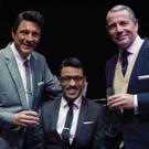 BWW Interview: A Tribute to the World�s Greatest Entertainer: Stephen Triffitt ist Frank Sinatra, Mark Adams ist Dean Martin und George Daniel Long ist Sammy Davis Jr.