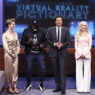 VIDEO: Dove Cameron & Scarlett Johansson Face Off in Game of Virtual Pictionary on TONIGHT