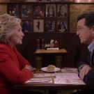 VIDEO: Stephen Colbert Teaches Hillary Clinton Proper Way to Eat Cheesecake