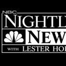 NBC NIGHTLY NEWS Delivers Biggest Win Over ABC in 4 Weeks