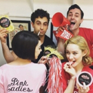 Photo Flash: Broadway Gets Ready for GREASE LIVE in Saturday Intermission Pics, 1/30