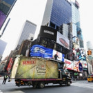 Times Square Attraction Receives Huge Delivery From Legendary Pictures & Warner Bros' KONG: SKULL ISLAND
