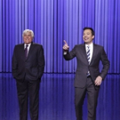 VIDEO: Jay Leno Tags In to Help Jimmy Tell Some TONIGHT SHOW Monologue Jokes