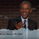 VIDEO: President Obama Reads #MeanTweets, Talks Snapchat & More on JIMMY KIMMEL