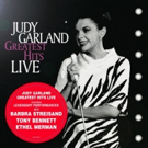 JUDY GARLAND GREATEST HITS LIVE Out on Limited Edition Colored Vinyl