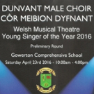 Welsh Musical Theatre Young Singer of the Year 2016 Finalists Announced