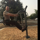 PlayCore Awards Fitness National Demonstration Site Award to Clovis Old Town Trail Outdoor Fitness Park