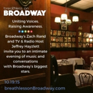 Broadway Stars Raise Their Voices for a Worthy Cause at Sardi's Restaurant