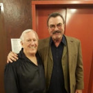 Photo Flash: Tom Selleck Visits BLUE BLOODS Co-Star Len Cariou at BROADWAY AND THE BARD