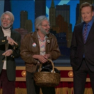 VIDEO: Stars of Broadway's OH, HELLO Welcome Conan to New York with Basket of Goodies