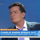 VIDEO: Charlie Sheen Reveals 'I'm HIV Positive' on TODAY