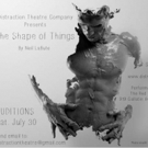 Distraction Theatre Company Opens LaBute's THE SHAPE OF THINGS 9/16