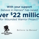 Toby Keith Lends Support to the Wounded Warrior Project Believe in Heroes Campaign