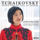 Violinist Jennifer Koh's Recording of Tchaikovsky's Complete Violin Works to be Released September 9