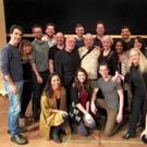 Photo Flash: Stephen Sondheim Surprises Cast of PRINCE OF BROADWAY in Rehearsal!