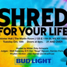 11th Annual SHRED FOR YOUR LIFE Guitar Battle Set for Webster Hall