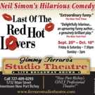 Jimmy Ferraro's STUDIO THEATRE Stages LAST OF THE RED HOT LOVERS, Starting Tonight