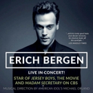 JERSEY BOYS' Erich Bergen to Play Live in Concert at Metropolis Next Month