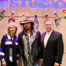 Billy Ray Cyrus Attends Seacrest Studios 1st Anniversary