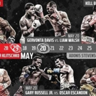 Showtime Boxing Unveils Robust Schedule Anchored By Heavyweight Blockbuster Event