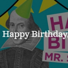 The Old Globe Celebrates Shakespeare's Birthday with Free Public Event