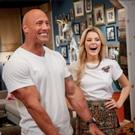 Photo: First Look - Dwayne Johnson Plays 'Newly Friend Game' on GRACE HELBIG, 6/7