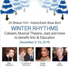 Klea Blackhurst, Tony Sheldon & More Set for Urban Stages' WINTER RHYTHMS 2015