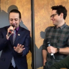 STAGE TUBE: STAR WARS Director J.J. Abrams Joins Lin-Manuel Miranda for Cantina Performance at #Ham4Ham
