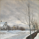 National Gallery Acquires New Painting by Laurits Andersen Ring