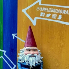 Photo Flash: Travelocity's Roaming Gnome Gets a Front Row Seat to AMELIE!
