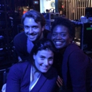 Photo: Idina Menzel, James Snyder and LaChanze Hard at Work on IF/THEN Tour