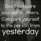 Fitness Tip of the Day: Stop Comparing Yourself