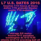 L7 Announce Rescheduled Tour Dates